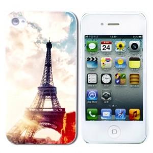 Чехол для iPhone 4/4S Eiffel Tower Photo