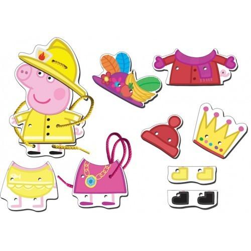 Игровой набор «Шнуровка Пеппа», дерево, Peppa Pig