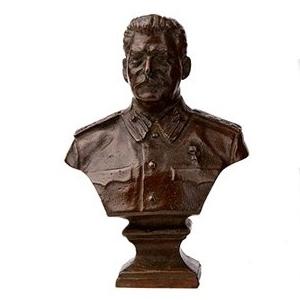Бронзовый бюст «Сталин»