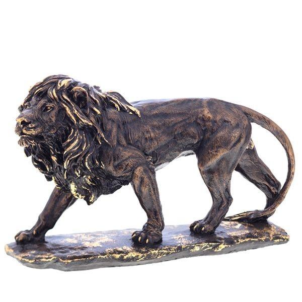 Декоративная фигурка Большой Лев №2 (сусальное золото)