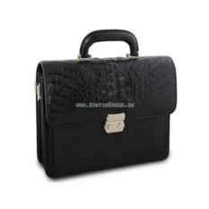 Мужской портфель из крокодиловой кожи