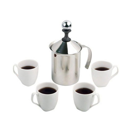 Набор кофейный: френч-пресс, 4 чашки