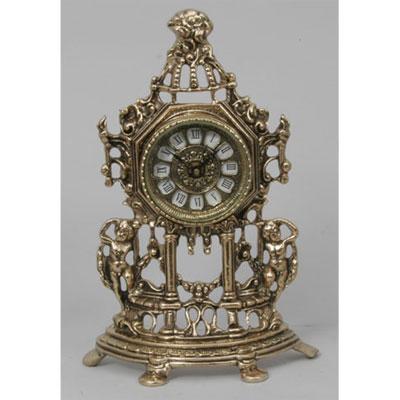 Часы настольные из бронзы «Амуры» Virtus