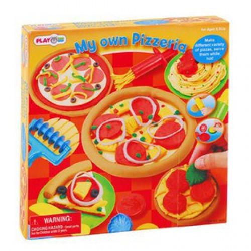 Набор с пластилином Моя пиццерия
