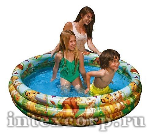 Надувной бассейн в стиле Disney Король Лев