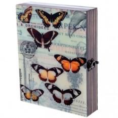 Настенная ключница Бабочки