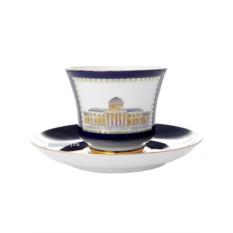 Чайная чашка с блюдцем Классика Петербурга №3