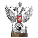Скульптура Герб России, серебро