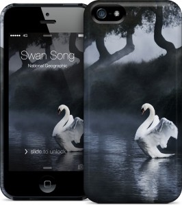 Чехол для iPhone 5/5s Gelaskins Swan Song
