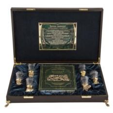 Подарочный набор в ларце Охотничий
