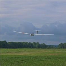 40 минут полета на планере Twin Astir