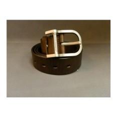 Коричневый мужской кожаный ремень G.Ferretti тип 58-7