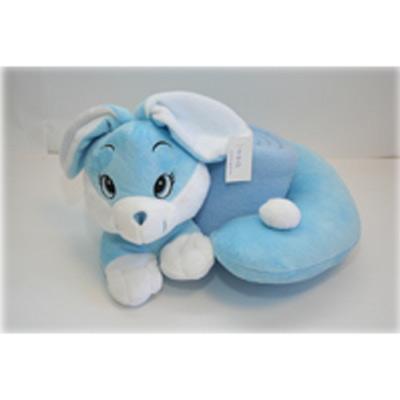 Набор «Зайка»: игрушка-подушка + плед