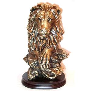 Статуэтка «Голова льва»