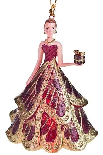 Новогоднее украшение Принцесса