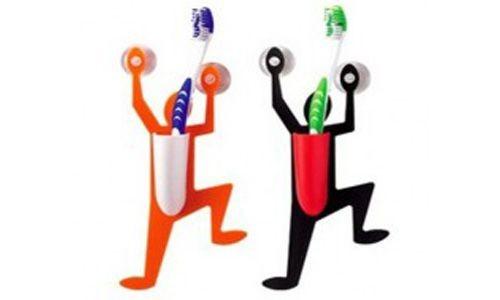 Подставка для зубной щетки Человечек