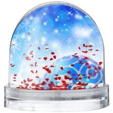 Водяной шар С Новым годом