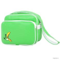 Ярко-зеленая сумка Angry birds School