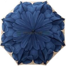 Синий складной зонт Мини георгин