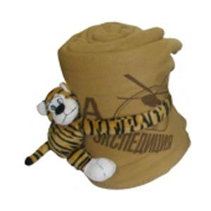 Плед-игрушка флисовый «Тигр»