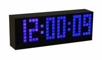 Часы цифровые с синими диодами