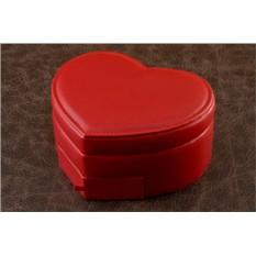 Шкатулка для ювелирных украшений Красное сердце
