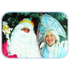 Борода, усы, парик для Деда Мороза