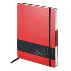 Красный недатированный ежедневник Zenith В5