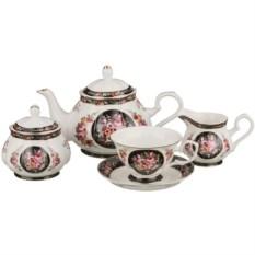 Чайный сервиз Розы на 6 персон