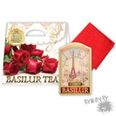 Чайный набор Миллион алых роз из чая и салфетки