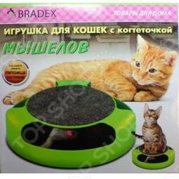 Когтеточка для кошек Bradex «Мышелов»