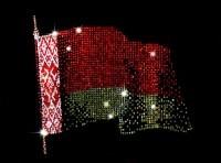 Картина Swarovski Флаг Белоруссии