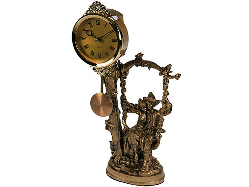 Настольные часы На качелях