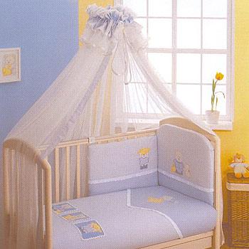 Тюлевый балдахин в детскую кроватку Dodo FERETTI