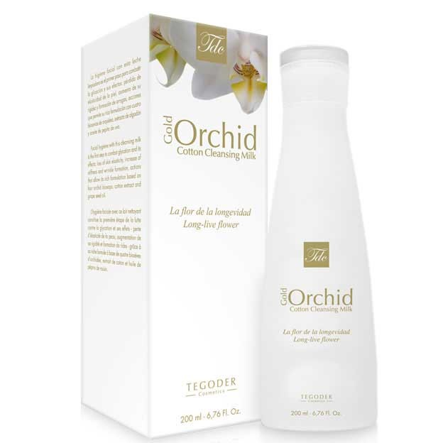 Очищающее молочко для лица Gold Orchid Cotton Line (200 ml)