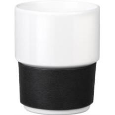 Черно-белая фарфоровая кружка Purity Plus