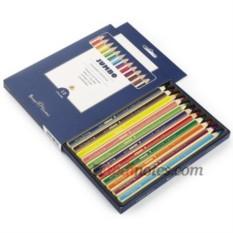 Набор цветных утолщённых карандашей Bruno Visconti Jumbo
