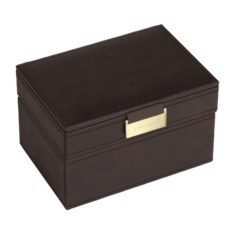 Черная шкатулка для драгоценностей LC Designs