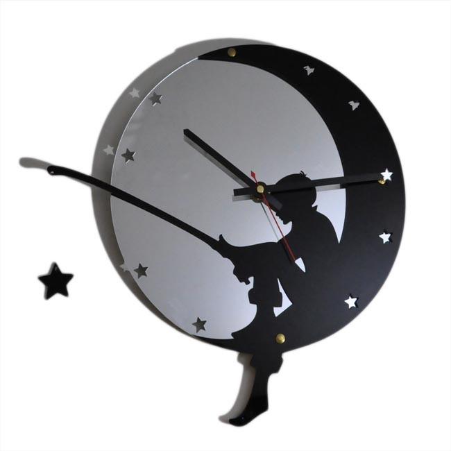 Часы Ночной рыбак (зеркальные)