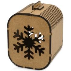Малая подарочная коробка «Снежинка»