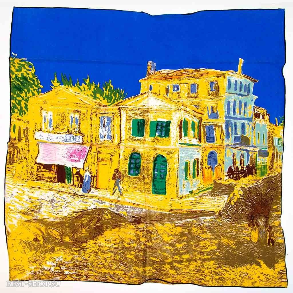 Платок Желтый дом (Ван Гог)