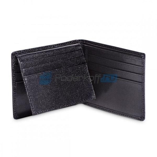 Мужской бумажник, чёрный