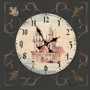 Настенные часы  «Замок»