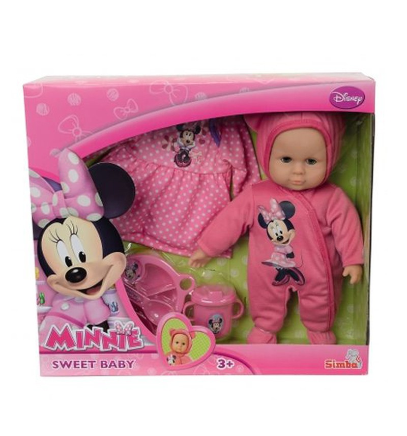 Кукла Simba Пупс Minnie Mouse New Born Baby
