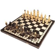 Деревянные шахматы Ледовое побоище