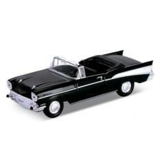 Модель винтажной машины Chevrolet Bel Air 1957, Welly