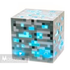Синий светильникв виде блока алмазной руды