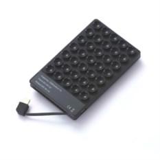Черное зарядное устройство Power Bank Octopus на 2500 mAh