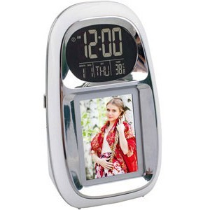 Часы с термометром и цифровой рамкой «Вся Россия»