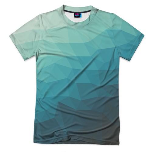 Мужская футболка 3D с полной запечаткой Геометрия